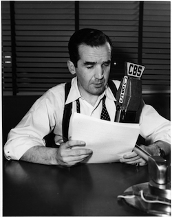 Photo of Edward R. Murrow