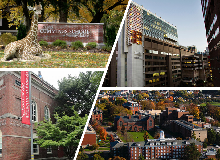 Reserve Tufts Campuses